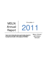 2012-2013 MSLN Report of the PUC